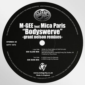 Bodyswerve (Grant Nelson Remixes)