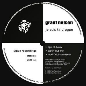 Je Suis Ta Drogue (Jackin' Dub Mix)