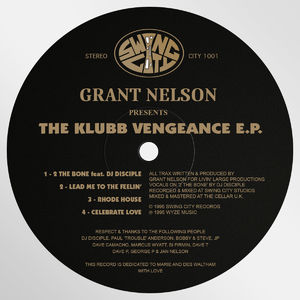 The Klubb Vengeance EP